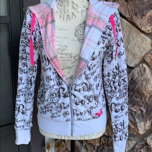 reversible Roxy hoodie
